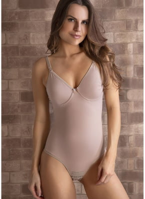 Body Feminino  Modelador Sem Bojo