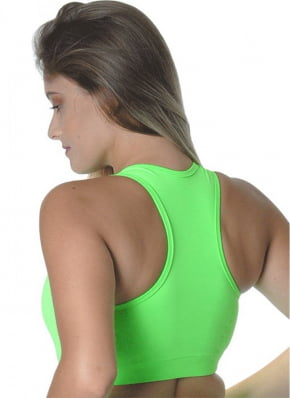 Cropped Fitness verde Red Sports