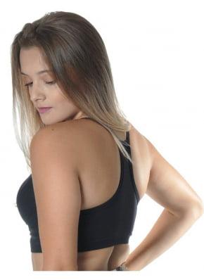Top Fitness Com Bojo Preto Nadador